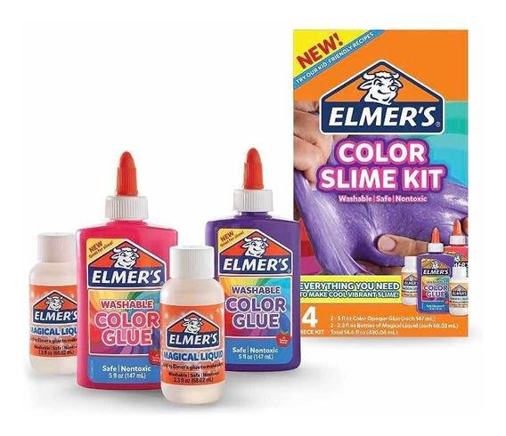 Kit Slime Color Elmers