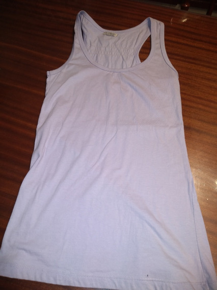 Musculosa Basica Me Puedes Con Pespuntes T S/m