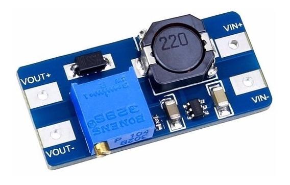 Conversor Dc/dc Step Up Boost Elevador Mt3608 Com 5 Peças