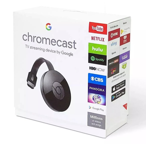 Cromecast Chromecast 2 Google Hdmi Pronta Entrega Original