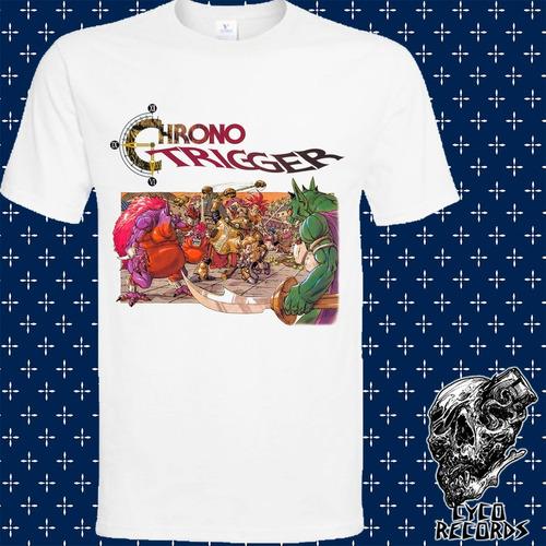 Imagen 1 de 3 de Chrono Trigger 2 - Videojuegos - Polera- Cyco Records