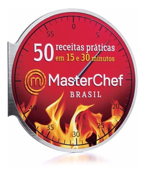 Livro 50 Receitas Práticas Do Masterchef Brasil