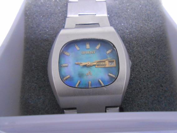 Antigo Relógio Masculino De Pulso Orient 27 Jewels 429