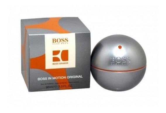 Perfumes Hugo Boss In Motion 90ml Original Eau De Toilette