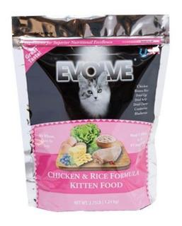Evolve Cat Kitten Chicken Rice 2.75 Lb