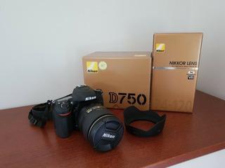 Brand New Nikon D750 Vr Kit 24-120mm Lens