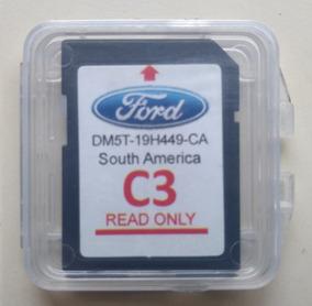 Cartão Sd Gps E Navegacão Ford Versão C3 Sync - Usado