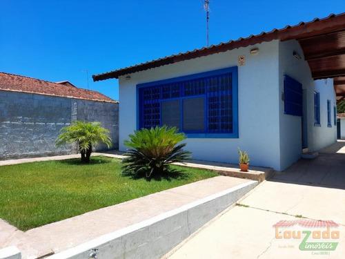 Imagem 1 de 9 de Casa Para Venda Em Peruíbe, Centro, 3 Dormitórios, 2 Banheiros, 8 Vagas - 3171_2-1063450