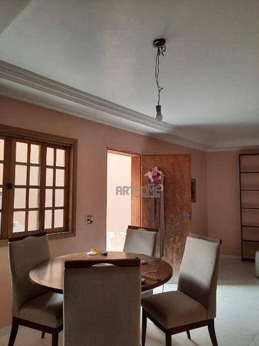 Imagem 1 de 28 de Sobrado Com 4 Dormitórios À Venda, 250 M² Por R$ 850.000,00 - Vila Esther - São Bernardo Do Campo/sp - So0396