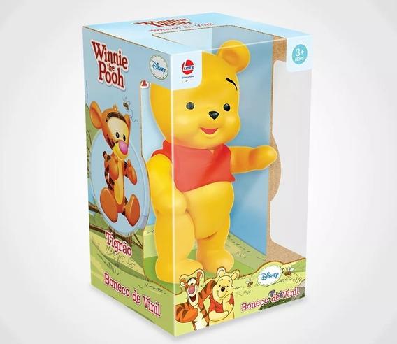 Boneco De Vinil Pooh Lider Brinquedos