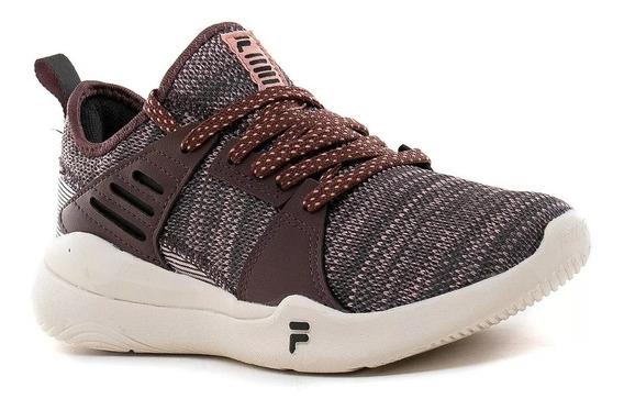 Zapatilla Fila Running Mujer Footwear Essentials Rosa - Vino