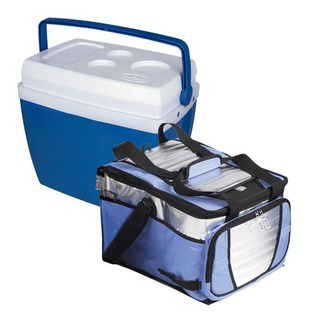Caixa Térmica 34l + Bolsa Térmica 36l Mor Cooler