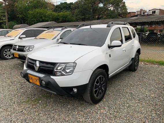 Renault Duster Aut 4x2 2.0cc Blanca 2017 Khu197