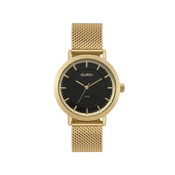 Relógio Euro Feminino Construções Dourado Eu2039jm/4p