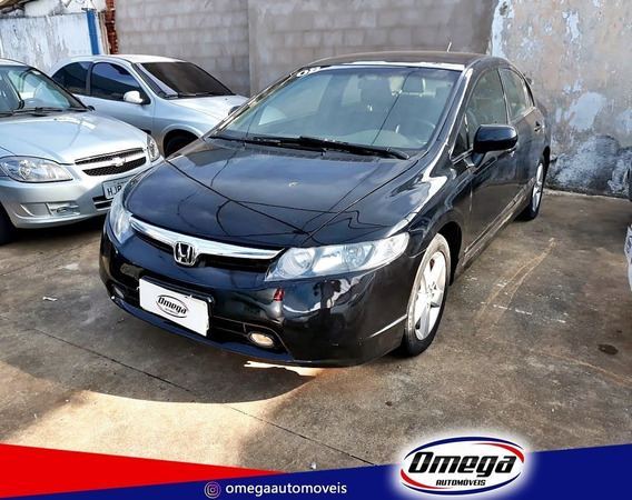 Honda Civic 1.8 Lxs 16v Flex 4p Manual