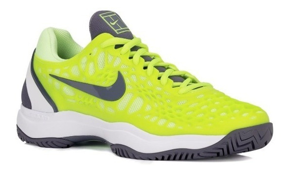 Tênis Nike Air Zoom Cage 3 Hc Rafa Nadal - Amarelo Limão
