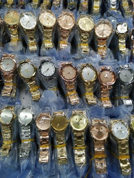 Relógio - Kit Com 5 Relógios Femininos Atacado Para Revenda