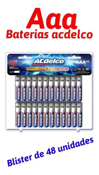 Baterias/pilas Alcalinas Aa Y Aaa Acdelco Super