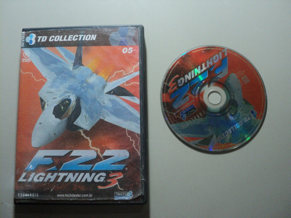 Jogo Pc Original - F22 Lightning F18