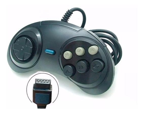 3 Controles Joystick Mega Drive Master System Sega Tec Toy