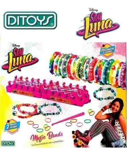Soy Luna Magic Bands Grande Licencia Original Dia Del Niño
