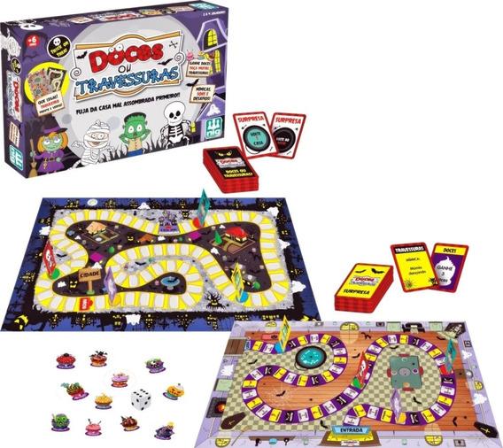 Jogo De Tabuleiro Doces Ou Travessuras - 1181 Nig Brinquedos