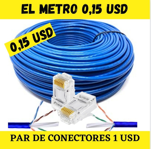 Cable De Red Internet Cat 5e Mr Tronic