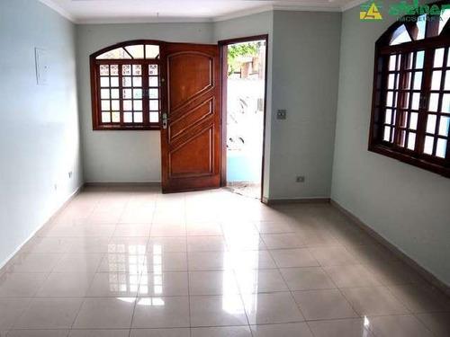 Imagem 1 de 10 de Venda Sobrado 3 Dormitórios Jardim Vila Galvão Guarulhos R$ 700.000,00 - 23900v