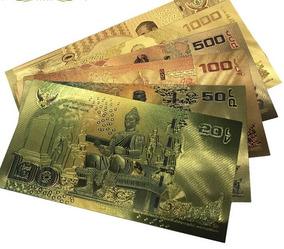 Notas Dinheiro Tailandia