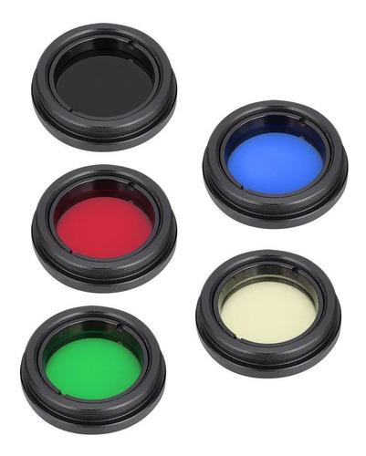1,25 /31.7mm Telescópio Lente De Olhos Filtro De Cor Para L