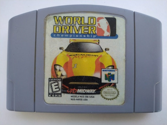 World Driver Championship Original Nintendo 64 N64