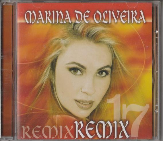 Marina De Oliveira - Cd Remix - Seminovo