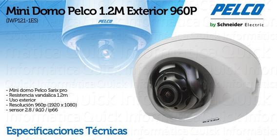 Mini Domo Ip Seguridad Pelco 1.2m Outdoor 960p