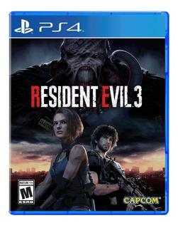 Resident Evil 3 Ps4 Fisico Sellado Preventa Real Ade Ramos