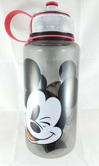 Mickey Garrafa Squeeze Plástico 1 Litro.