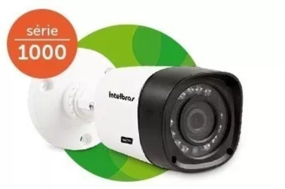 Kit 4 Câmeras Intelbras Bullet Vhd 1010b Multi Hd 3.6mm