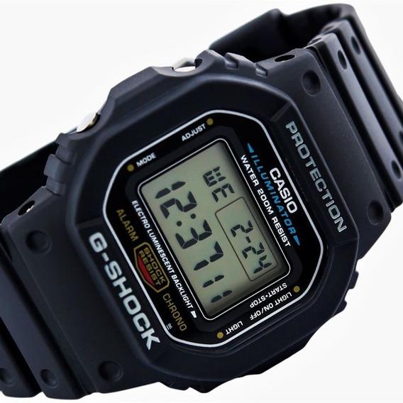 Relogio Digital G-shock Dw5600 Dw-5600e-1vdf Original Nf