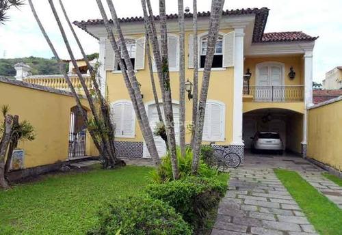 Imagem 1 de 30 de Casa Com 5 Quartos, 315 M² Por R$ 2.500.000 - São Francisco - Niterói/rj - Ca14457