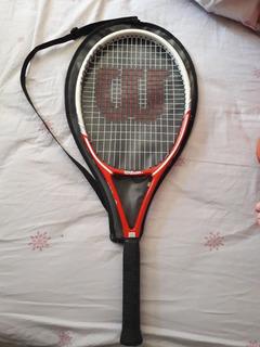 Raqueta De Tenis Wilson 3/8 (muy Poco Uso)