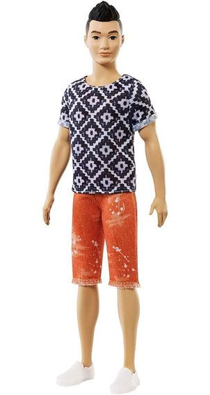 Boneco Ken Fashionista Barbie - Mattel Original Fxp01