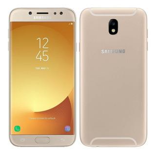 Samsung J7 Pro 64gb 3ram Dourado Android 9 Vitrine