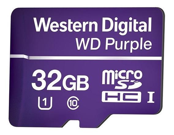 Cartão De Memória Sd 32gb Western Digital