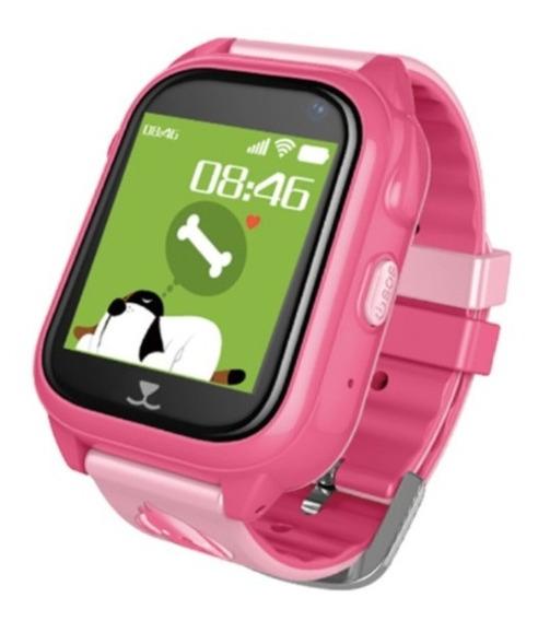 Reloj Gps Niña Resistente Al Agua, Compatible Ios Y Android