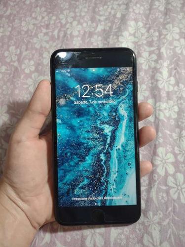 iPhone 7s 128g Black Fosco Usado Único Dono Sem Marca De Uso