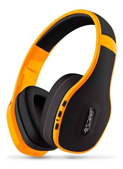 Fone De Ouvido Bluetooth 4.0 Multilaser Pulse Amarelo Ph151