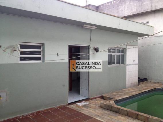 Casa Com 2 Dormitórios À Venda, 140 M² Por R$ 540.000,00 - Cidade Patriarca - São Paulo/sp - Ca6132