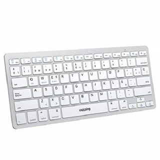 Teclado Bluetooth Universal Inalámbrico iPad iPhone Tablets
