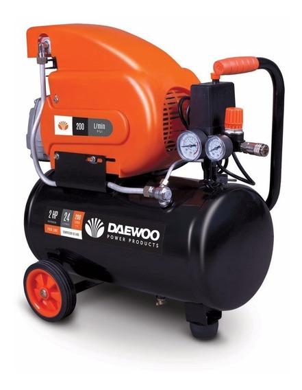 Compresor Daewoo 24lt - 2 Hp
