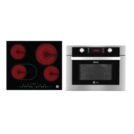Combo Horno Combi + Anafe Vitro Eléctricos Ge Appliances