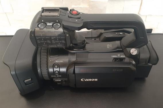 Filmadora Canon Xf405 4k Uhd 60p Camcorder Com Auto Foco Du
